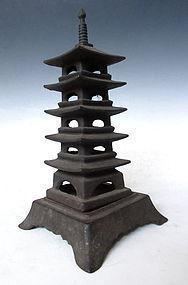Japanese Iron Pagoda