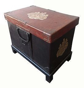 Antique Japanese Lacquer Chest