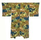 Antique Japanese Hand-Painted Silk Under Kimono