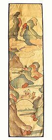 Antique Chinese Silk Kesi Panel