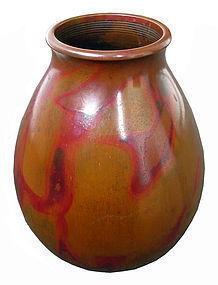 Antique Japanese Bronze Vase