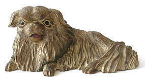 Japanese Carving of Chin Dog