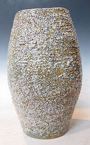 Japanese Ceramic Textured Vase