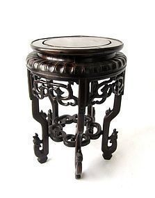 Antique Chinese Large Hardwood Stand