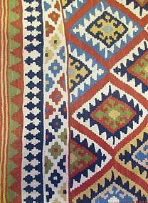 Vintage Woven Kilim Rug