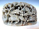 Antique Chinese Nephrite Jade Carving