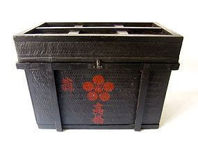Antique Japanese Edo Age Storage Box