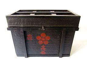 Antique Japanese Edo Age Storage Box