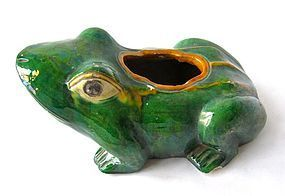 Antique Chinese Frog Roof Tile