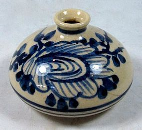 Antique Japanese Hair Oil Jar