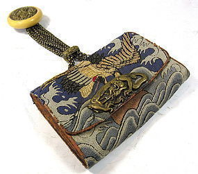 Antique Japanese Tobacco Pouch