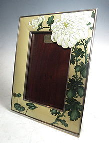 Japanese Cloisonne Picture Frame