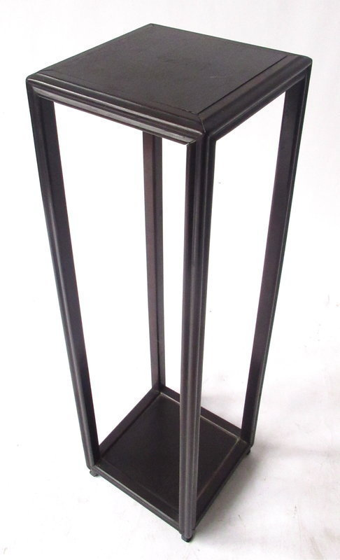 Antique Chinese Two-Level Hardwood Stand