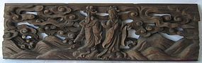Antique Japanese Temple Carving