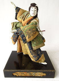 Antique Japanese Takeda Ningyo Doll