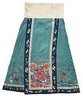 Antique Chinese Silk Skirt
