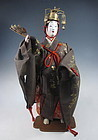 Japanese Antique Noh Actor Doll