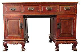Antique Chinese Hardwood Desk