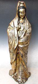 Chinese Aloeswood Kwan Yin Statue