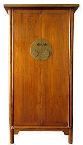 Large Chinese Ju-Mu Hardwood Cabinet