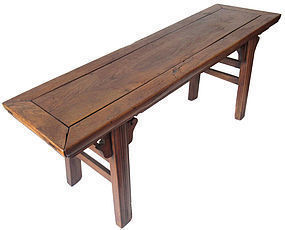 Antique Chinese Jumu Bench