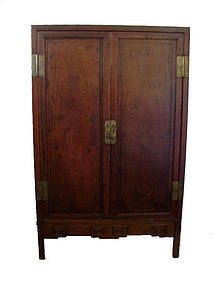 Antique Chinese Hardwood Wardrobe