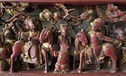 Chinese Gilt Lacquer Panel Carving