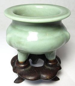 Antique Chinese Longquan Celadon