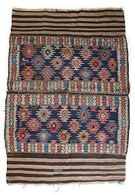 Rectangular Kurdish Kilim Carpet