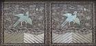 Chinese Antique Pair of Phoenix Rank Badges
