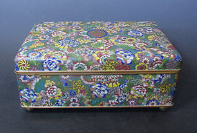 Antique Chinese Cloisonne Box