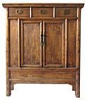 Antique Chinese Jumu Wood Cabinet