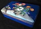Antique Japanese Cloisonne Box w/ Ando Mark