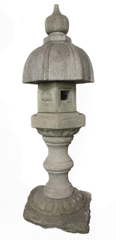 Japanese Early 19th Century Stone Temple Lantern