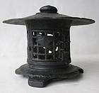 Antique Japanese Temple Lantern