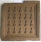 Unusual Chinese Ming Dynasty Buddhist Plaque