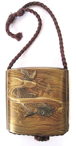 Stunning 18th Century Japanese Lacquer Inro