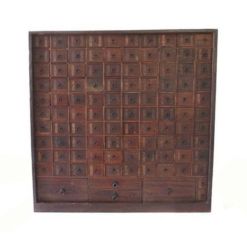 Antique Japanese Herb Drawer Tansu