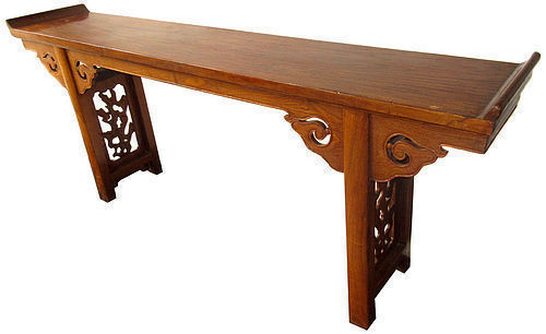 Chinese 18th Century Hardwood Altar Table