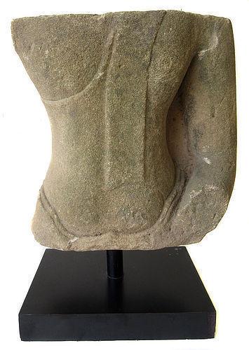 Dramatic 16th Century Thai Ayutthaya Buddha Statue Fragment