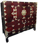 Antique Korean Chest with Stand