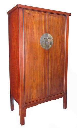 Chinese 19th Century Jumu Wood Cabinet