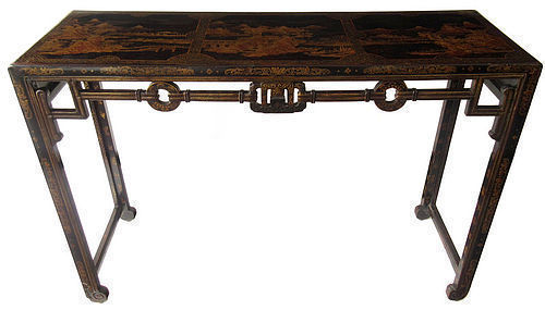 Antique Chinese Gilt Lacquer Table