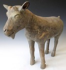 Charming Chinese Han Dynasty Goat