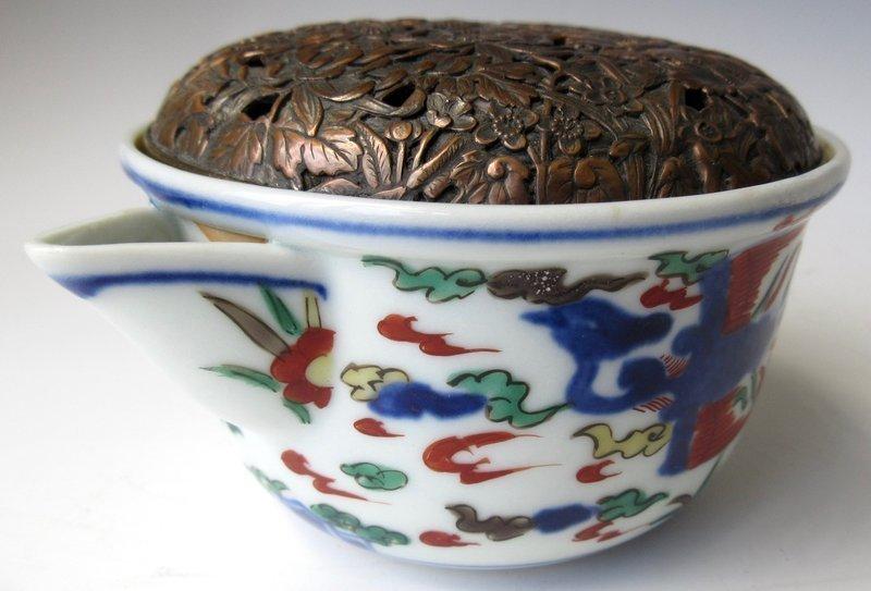 18th Century Chinese Wanli Style Teapot