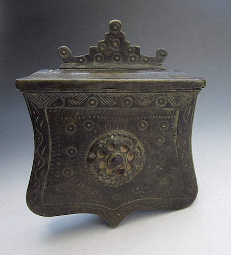 Himalayan Tibetan Portable Flintlock Container