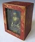 Antique Tibetan Gau Portable Buddhist Shrine