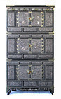 Korean Three Section Inlaid Cabinet Samch'ung Jang