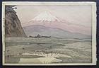 Japanese Woodblock Print by Hiroshi Yoshida