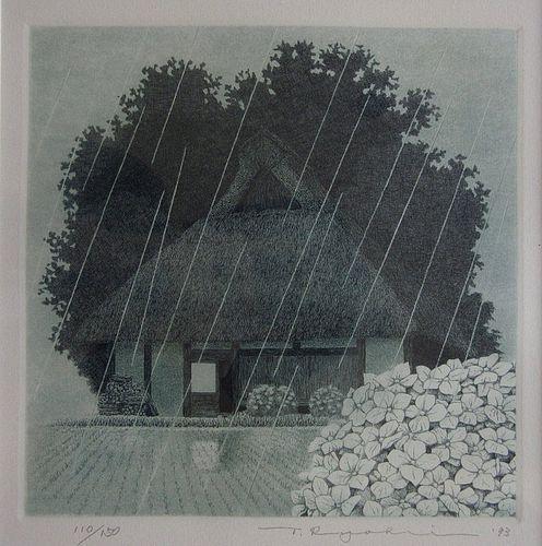 Japanese Framed Print by Tanaka Ryohei